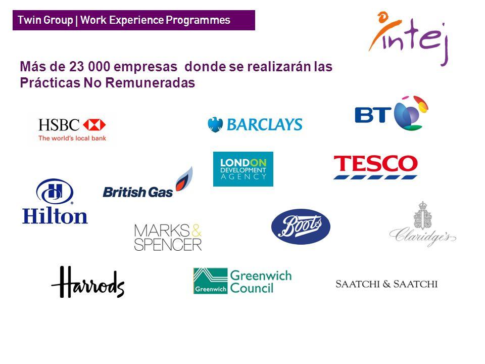 Más de 23 000 empresas donde se realizarán las