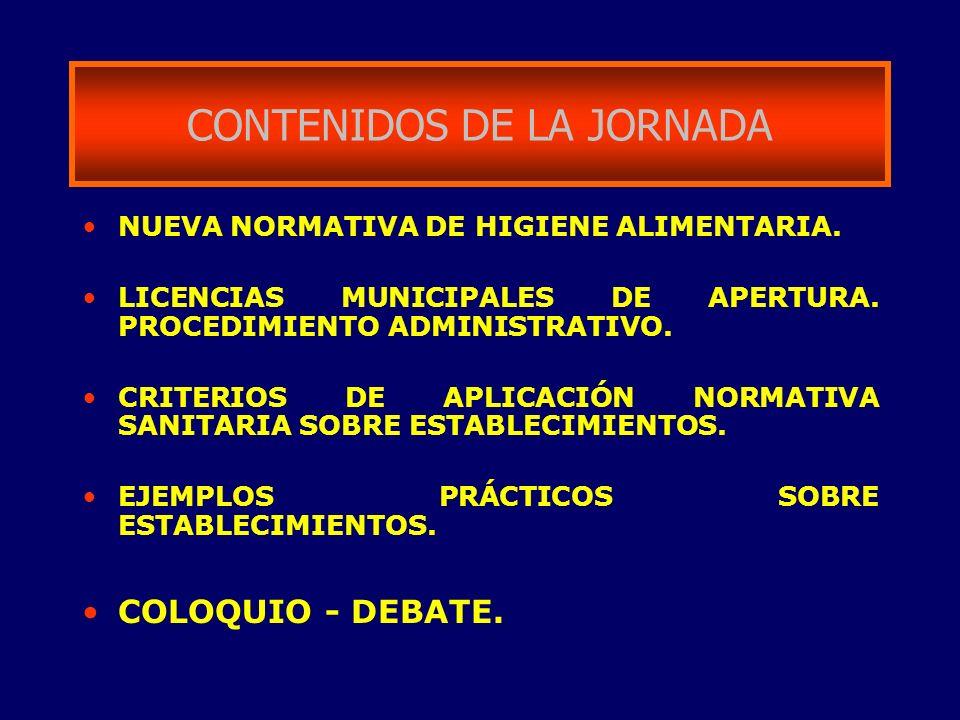 CONTENIDOS DE LA JORNADA