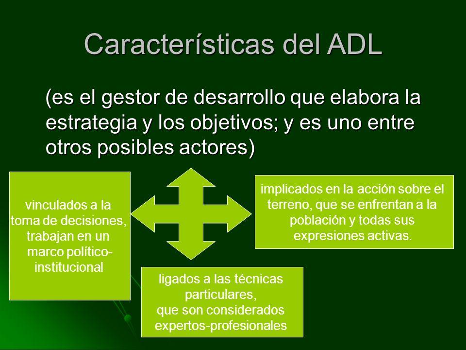 Características del ADL