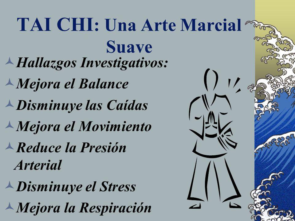 TAI CHI: Una Arte Marcial Suave