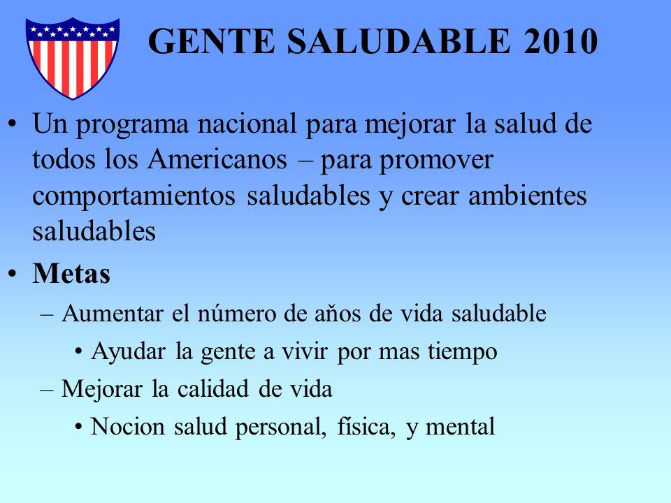 GENTE SALUDABLE 2010