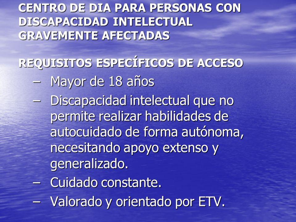 Valorado y orientado por ETV.