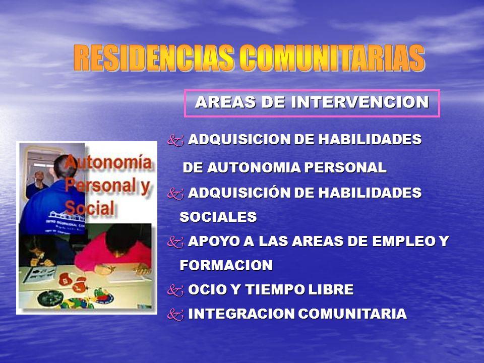 RESIDENCIAS COMUNITARIAS