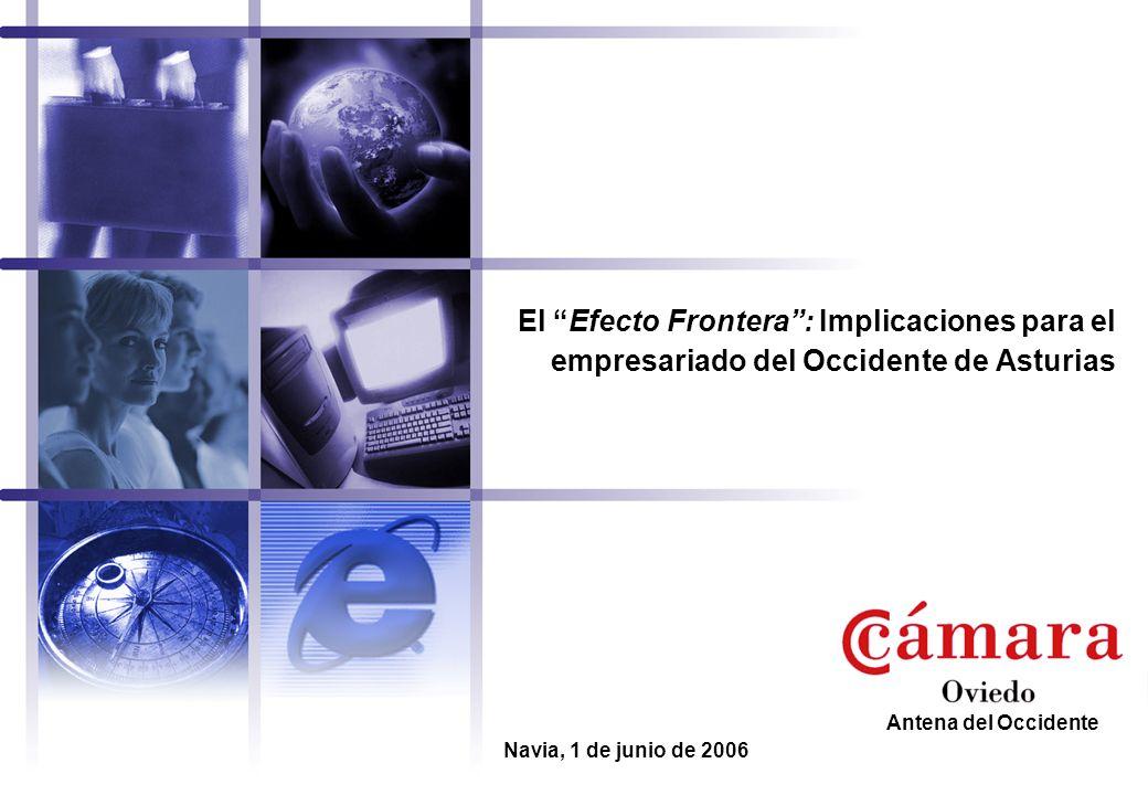 El Efecto Frontera : Implicaciones para el empresariado del Occidente de Asturias