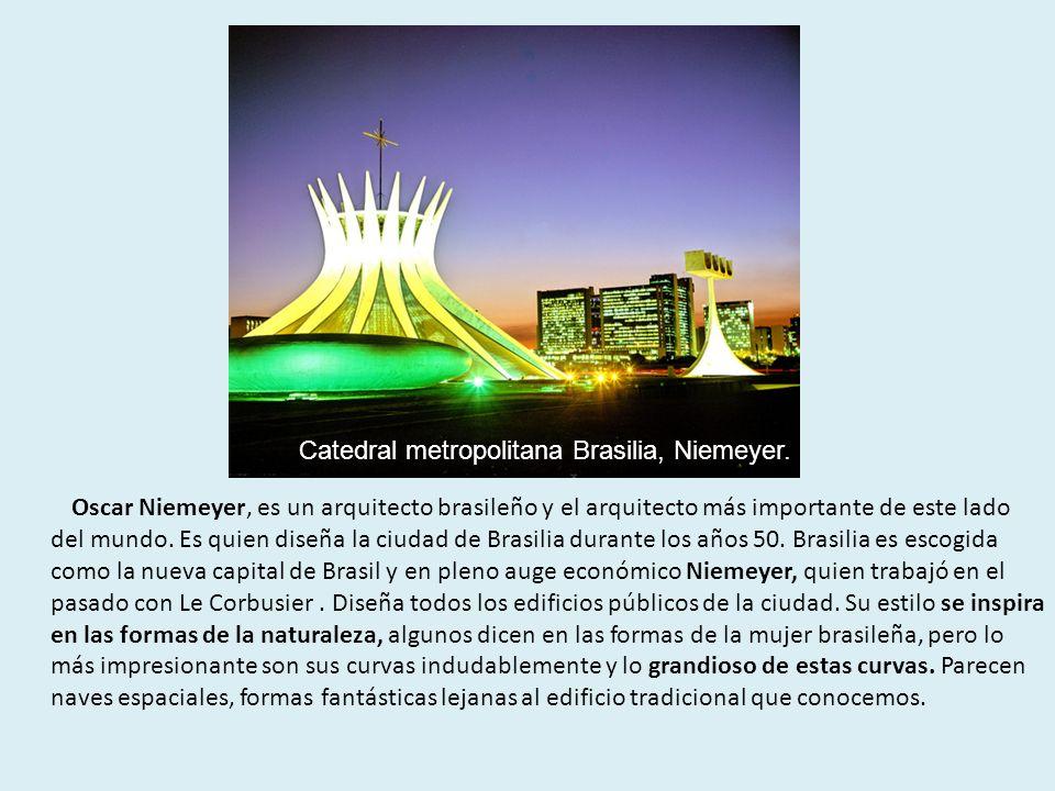 Catedral metropolitana Brasilia, Niemeyer.