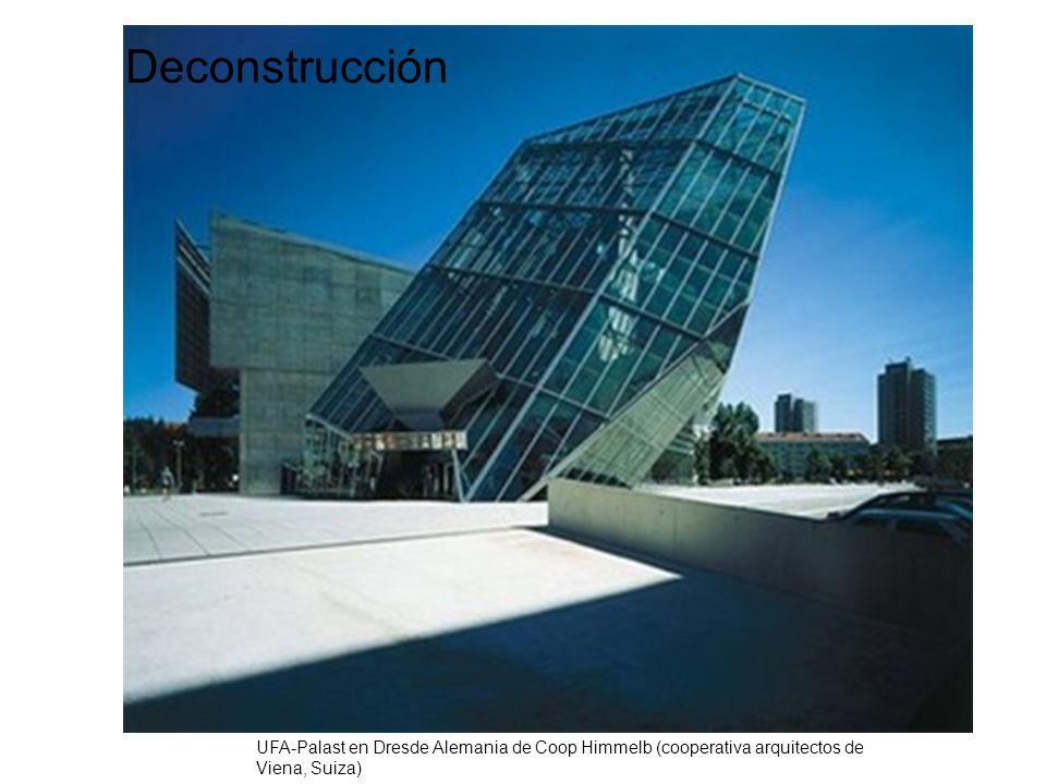 Deconstrucción UFA-Palast en Dresde Alemania de Coop Himmelb (cooperativa arquitectos de Viena, Suiza)