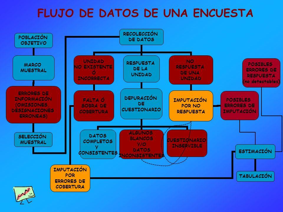 FLUJO DE DATOS DE UNA ENCUESTA