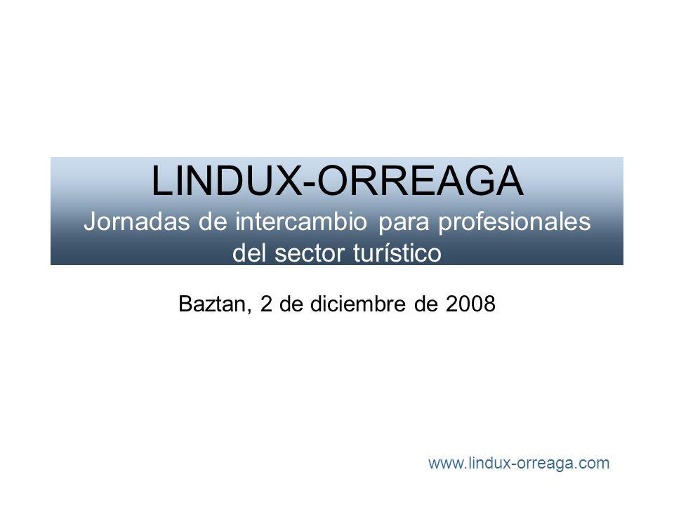 LINDUX-ORREAGA Jornadas de intercambio para profesionales del sector turístico