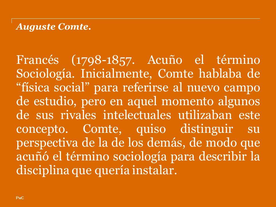 Auguste Comte.