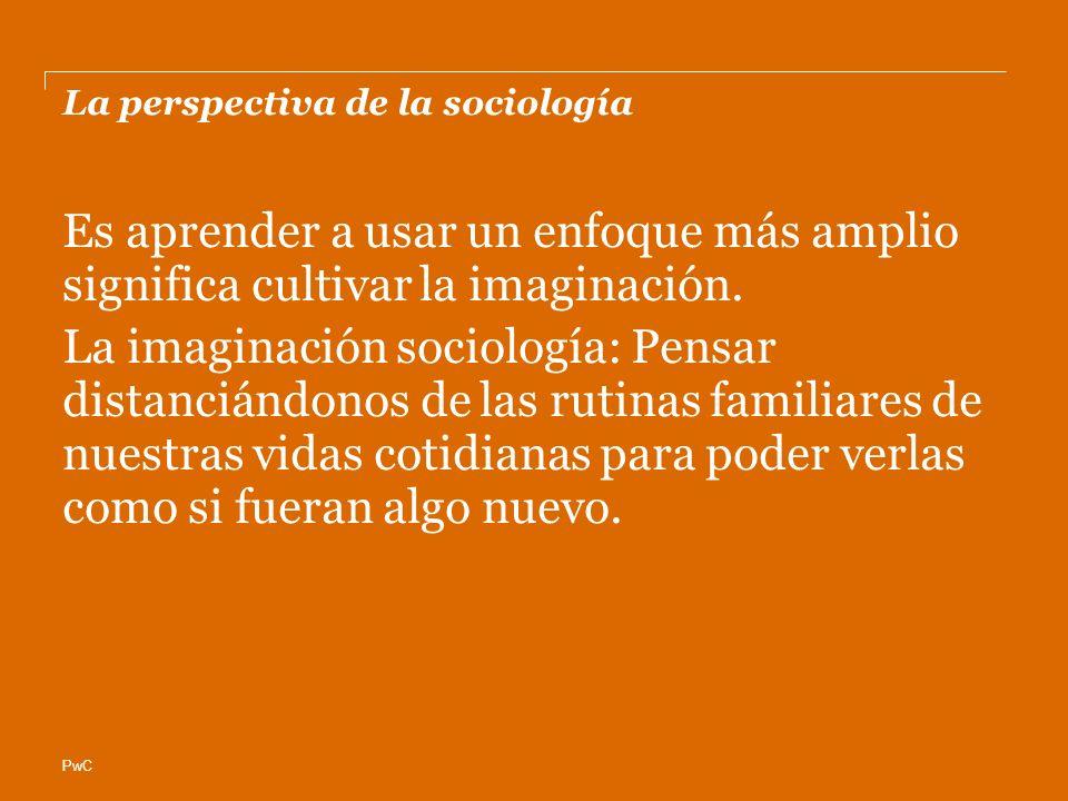 La perspectiva de la sociología