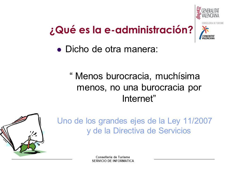¿Qué es la e-administración