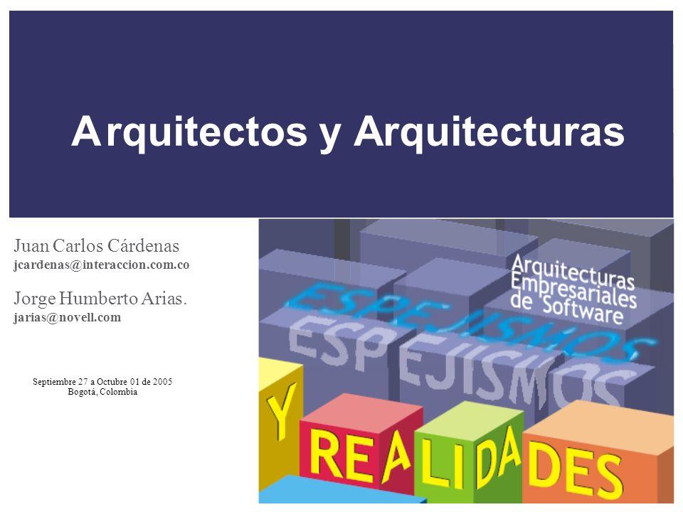 A rquitectos y Arquitecturas
