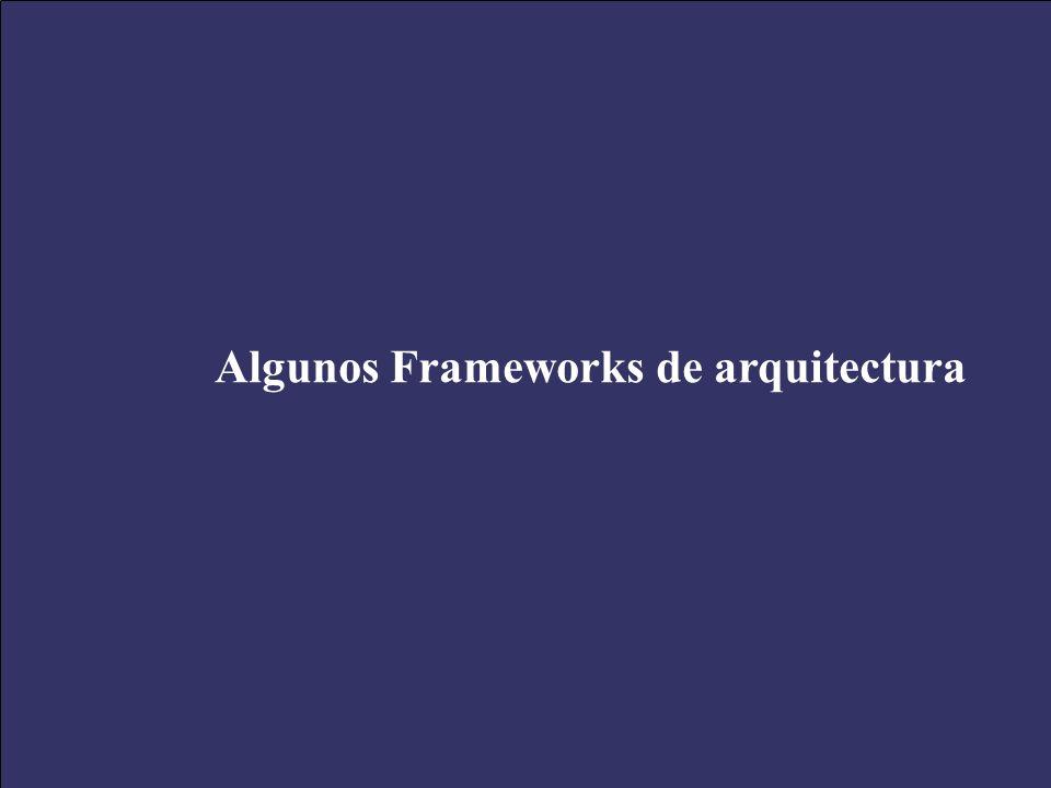 Algunos Frameworks de arquitectura
