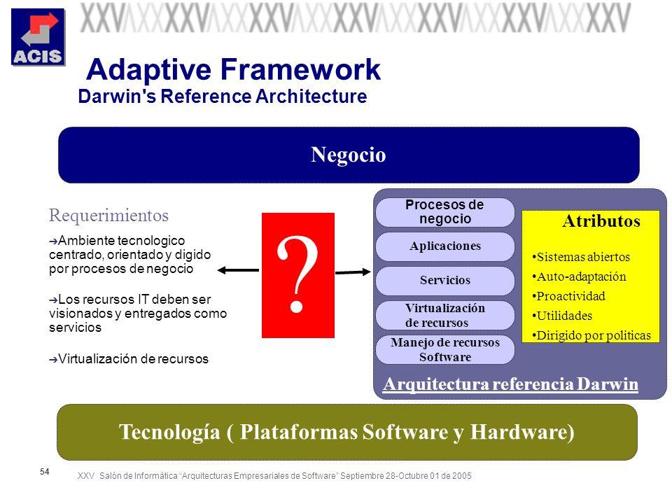 Adaptive Framework Darwin s Reference Architecture