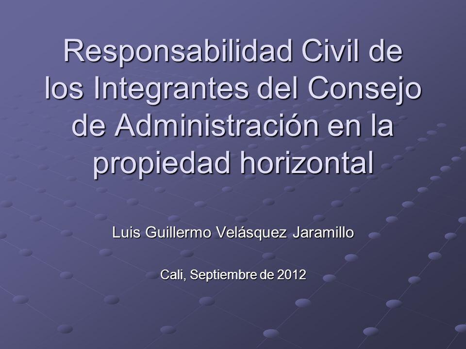 Luis Guillermo Velásquez Jaramillo Cali, Septiembre de 2012