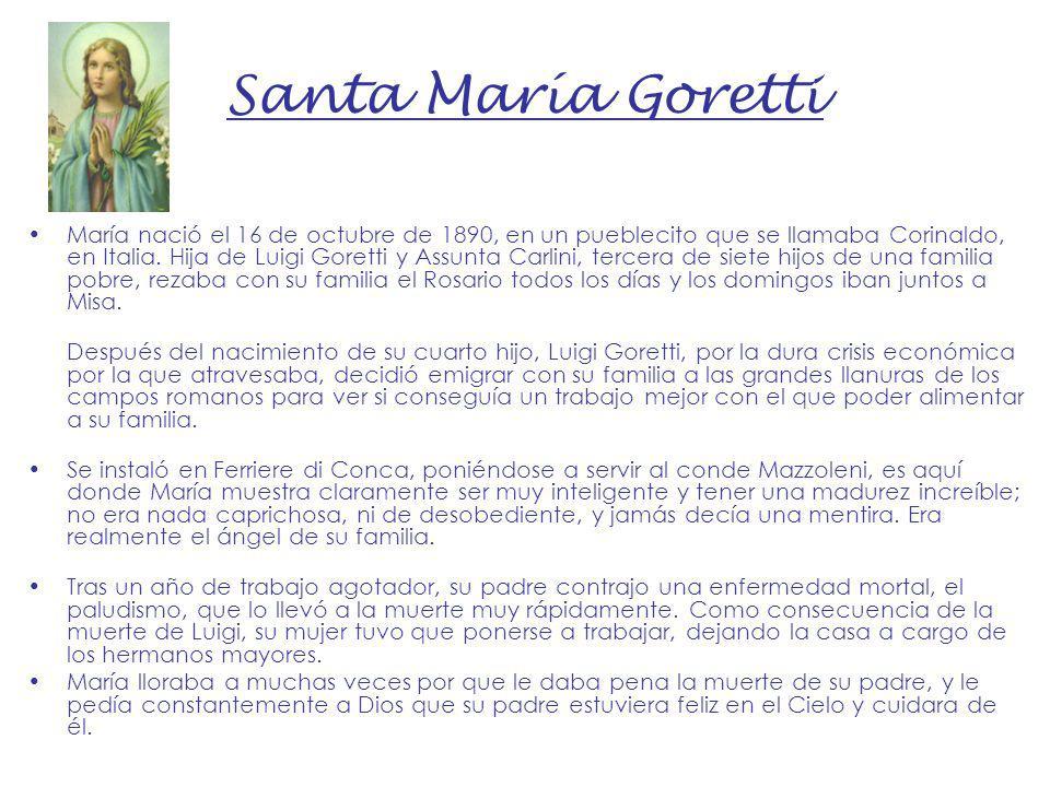 Santa María Goretti