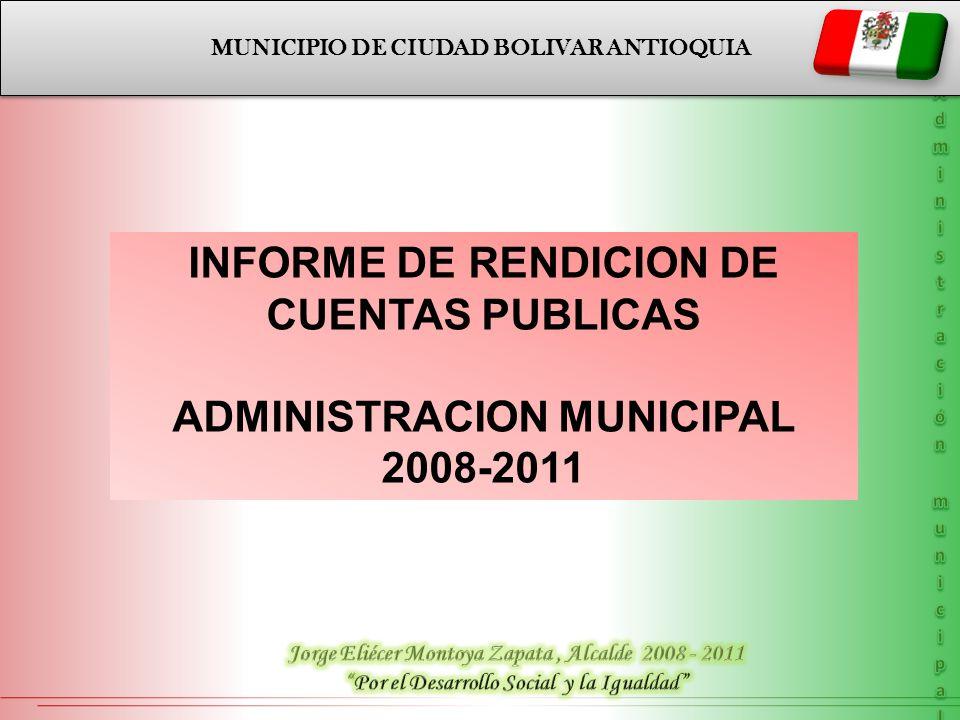 INFORME DE RENDICION DE CUENTAS PUBLICAS