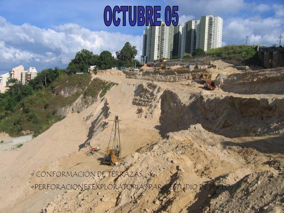 OCTUBRE 05 CONFORMACION DE TERRAZAS.