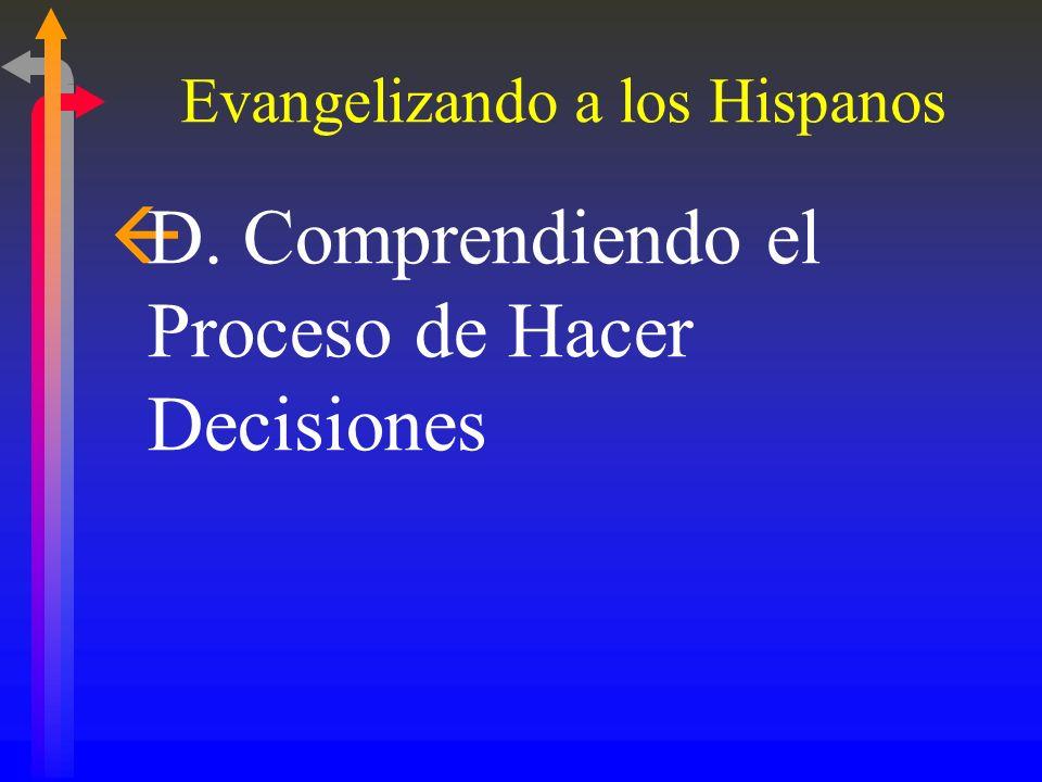 Evangelizando a los Hispanos