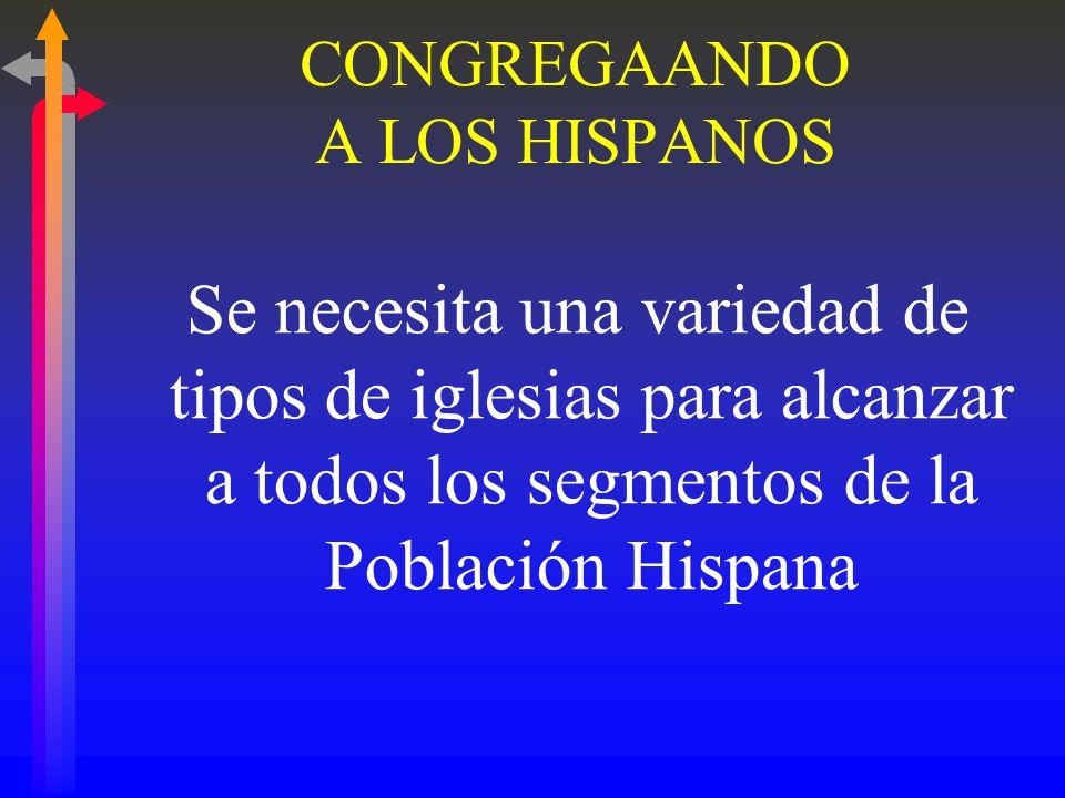 CONGREGAANDO A LOS HISPANOS