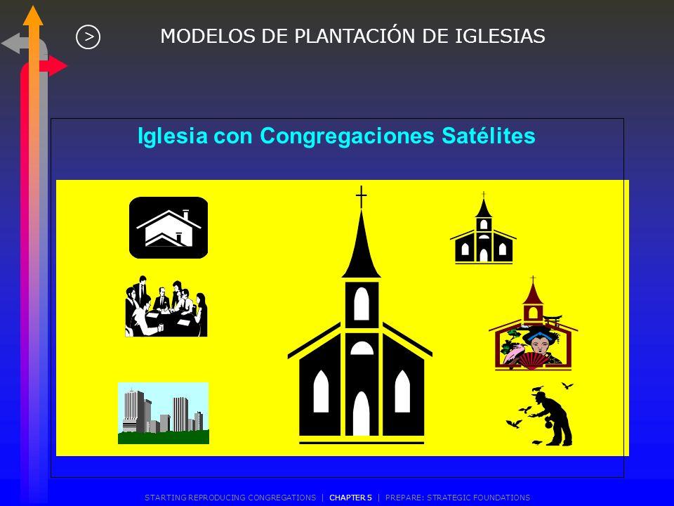 Iglesia con Congregaciones Satélites
