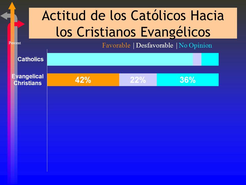 Actitud de los Católicos Hacia los Cristianos Evangélicos