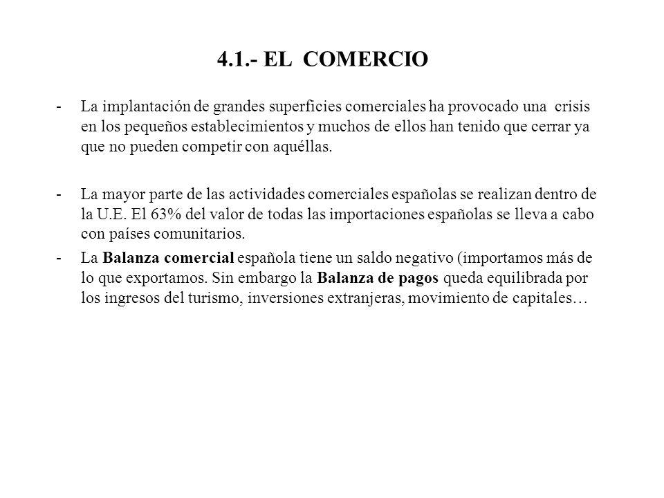 4.1.- EL COMERCIO