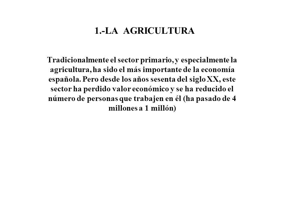 1.-LA AGRICULTURA