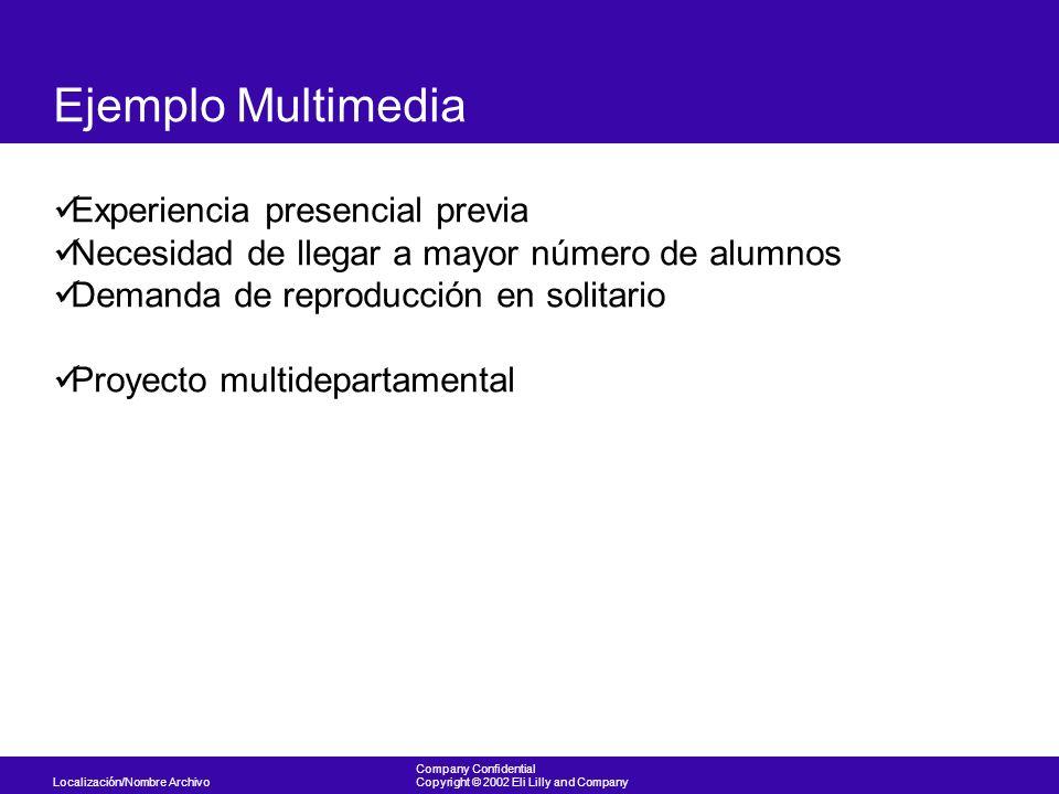 Ejemplo Multimedia Experiencia presencial previa