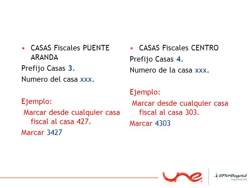 CASAS Fiscales PUENTE ARANDA