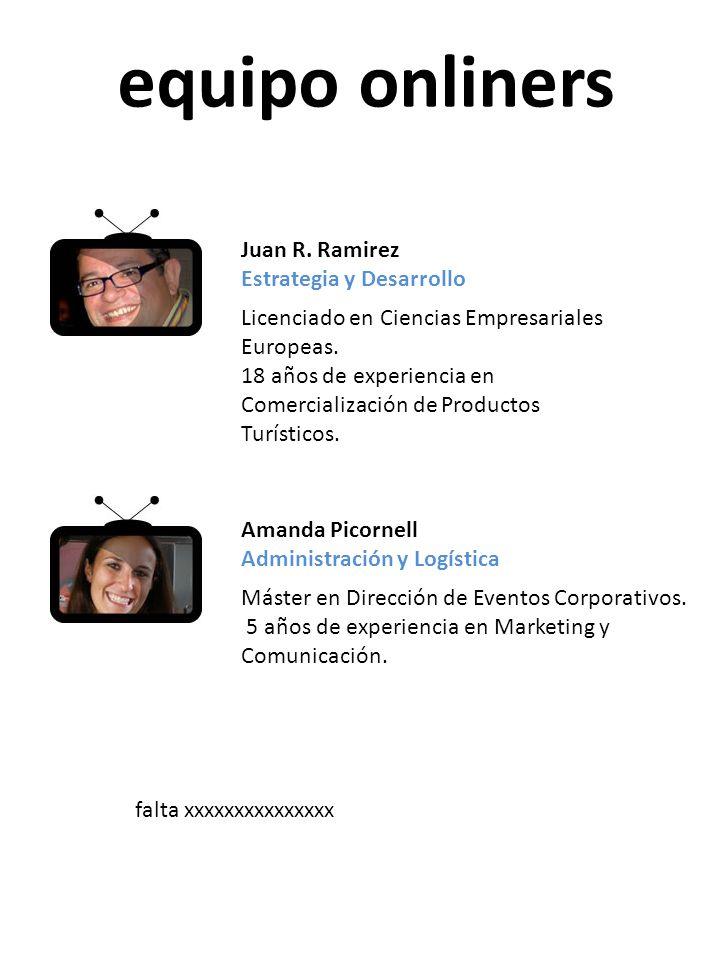 equipo onliners Juan R. Ramirez Estrategia y Desarrollo