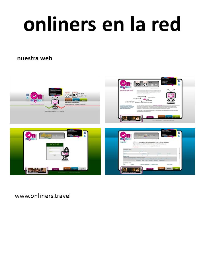 onliners en la red nuestra web