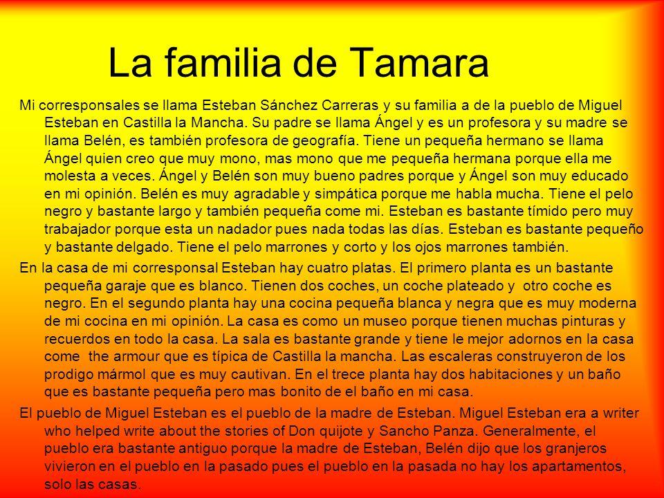 La familia de Tamara