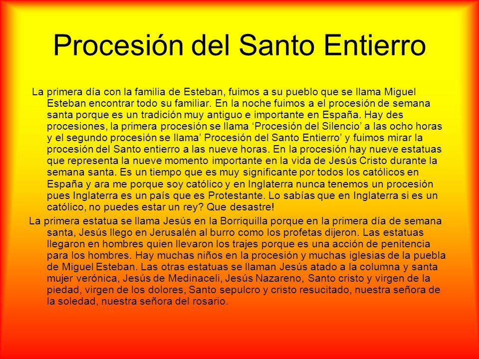 Procesión del Santo Entierro