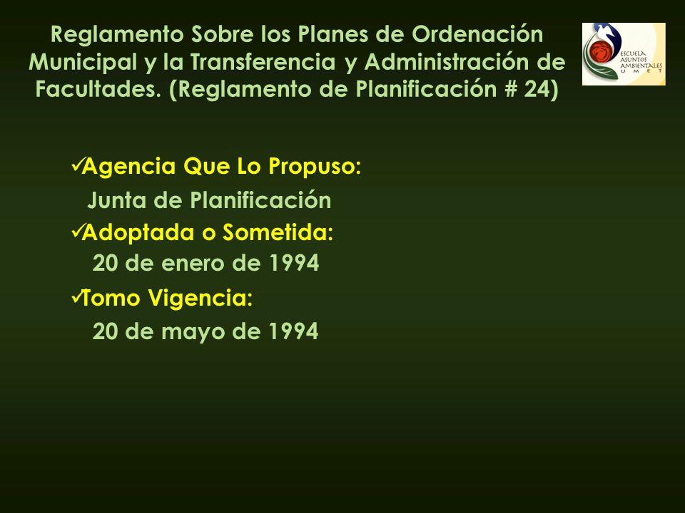 Agencia Que Lo Propuso: Adoptada o Sometida: Tomo Vigencia: