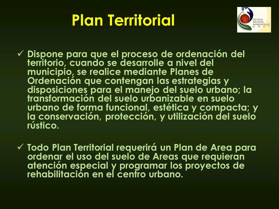 Plan Territorial