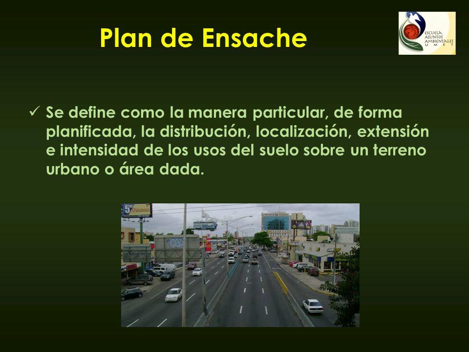 Plan de Ensache