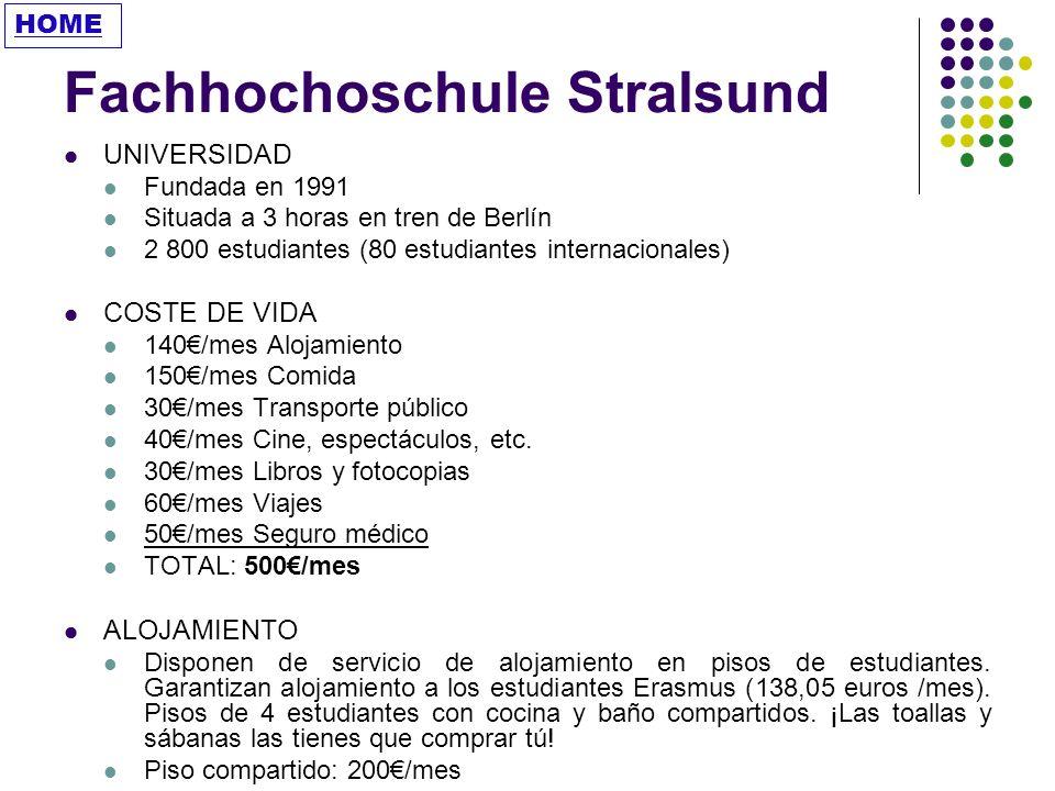 Fachhochoschule Stralsund