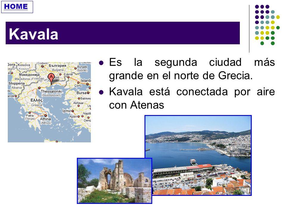 Kavala Es la segunda ciudad más grande en el norte de Grecia.