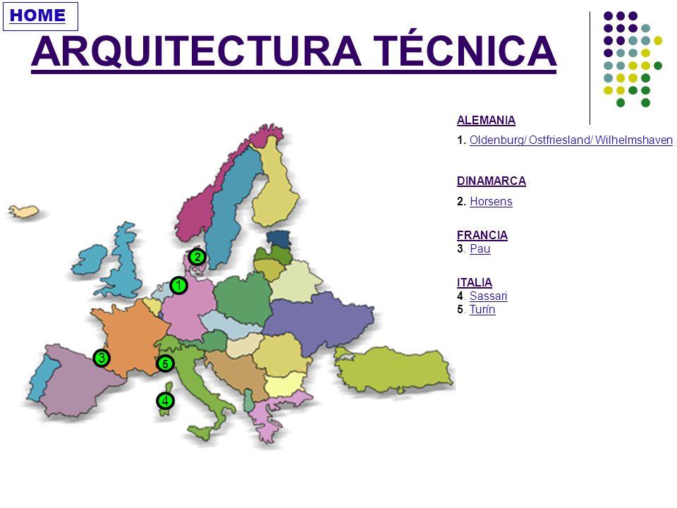 ARQUITECTURA TÉCNICA HOME 1 3 4 ALEMANIA