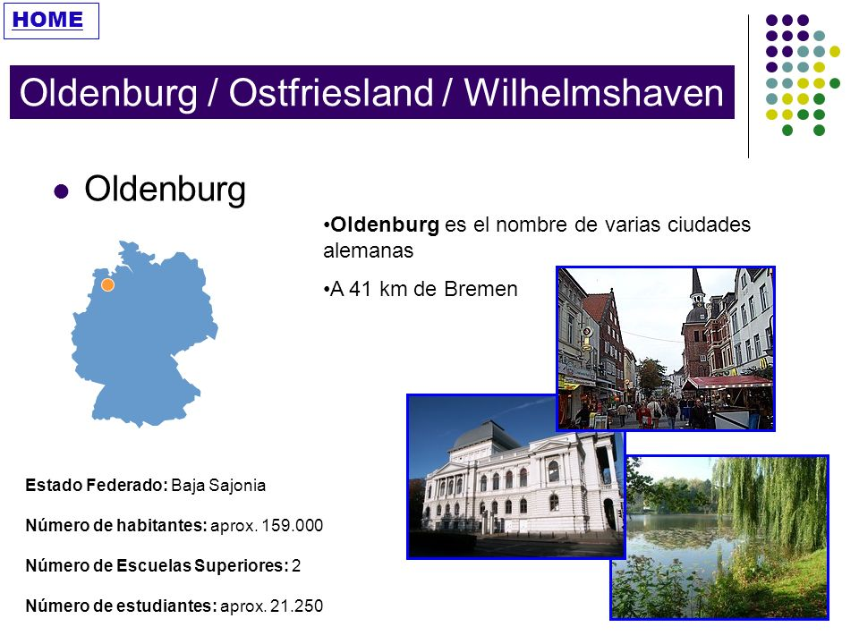 Oldenburg / Ostfriesland / Wilhelmshaven