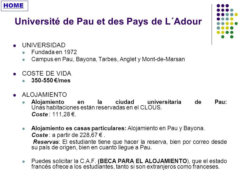 Université de Pau et des Pays de L´Adour