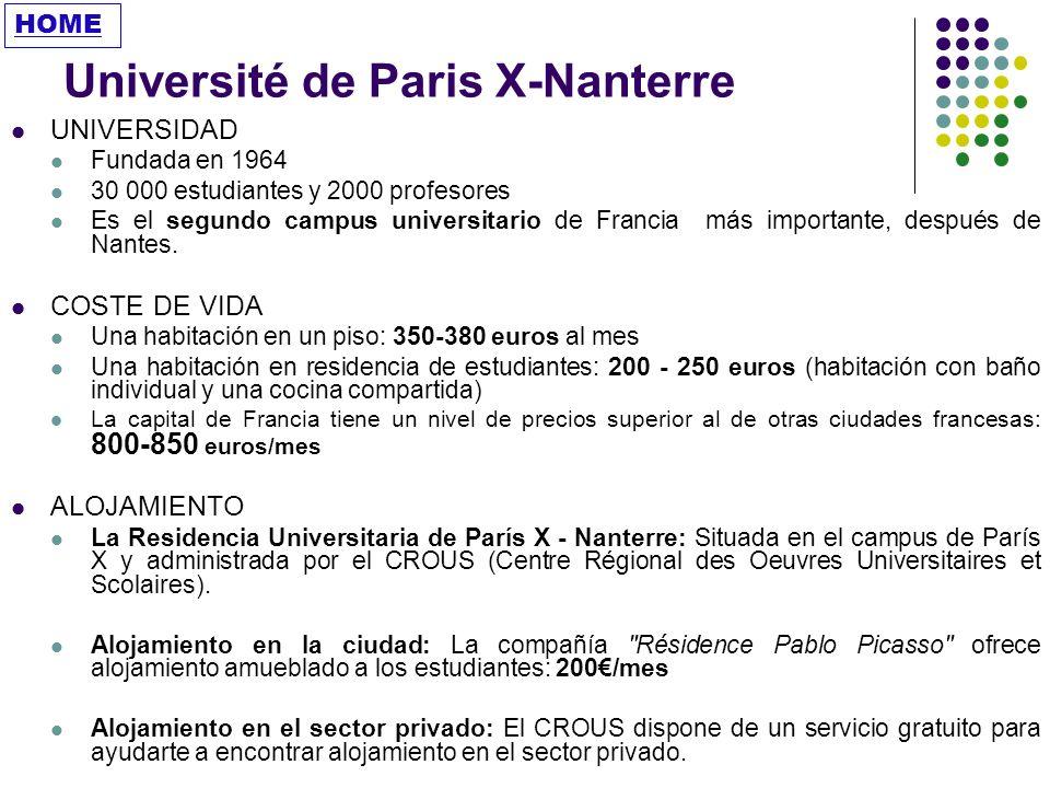 Université de Paris X-Nanterre