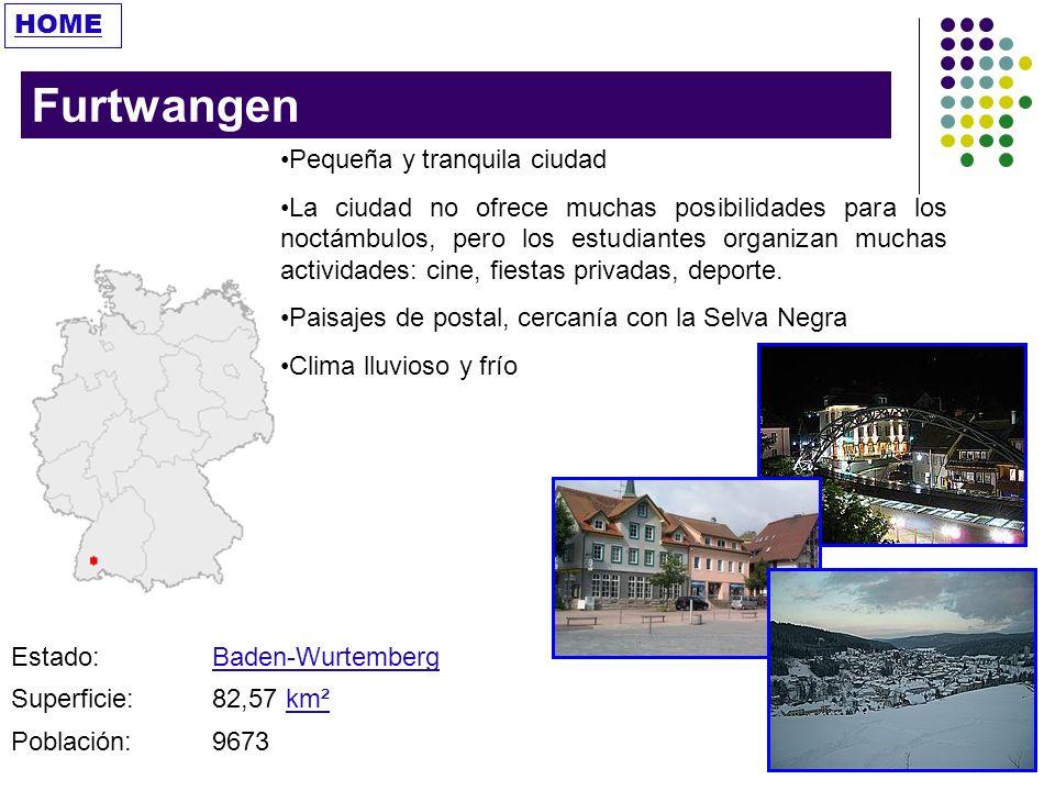 Furtwangen HOME Pequeña y tranquila ciudad