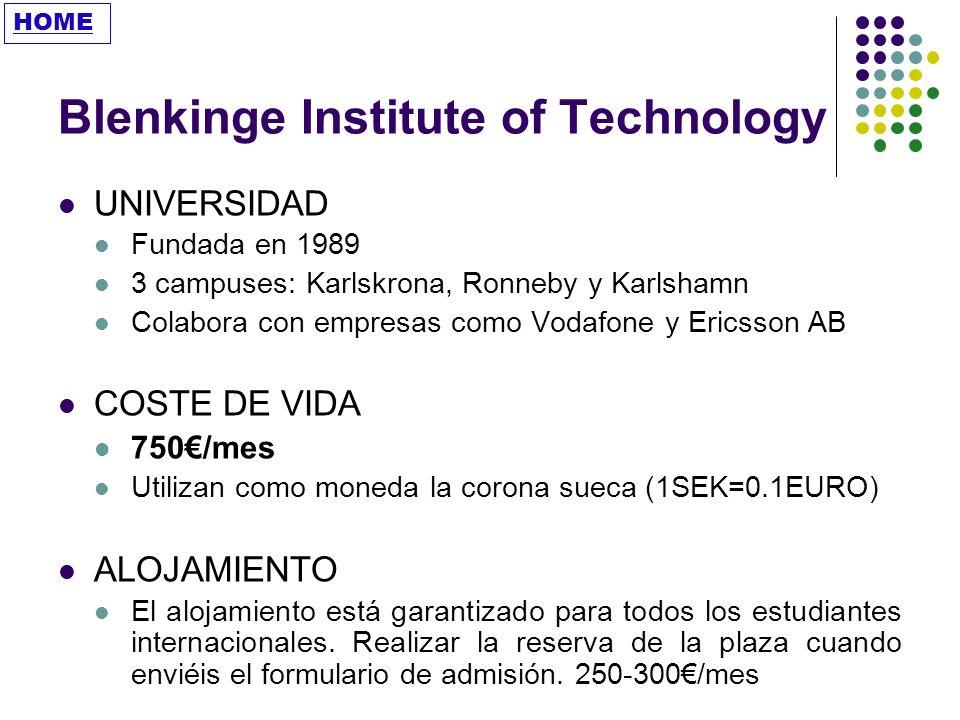 Blenkinge Institute of Technology