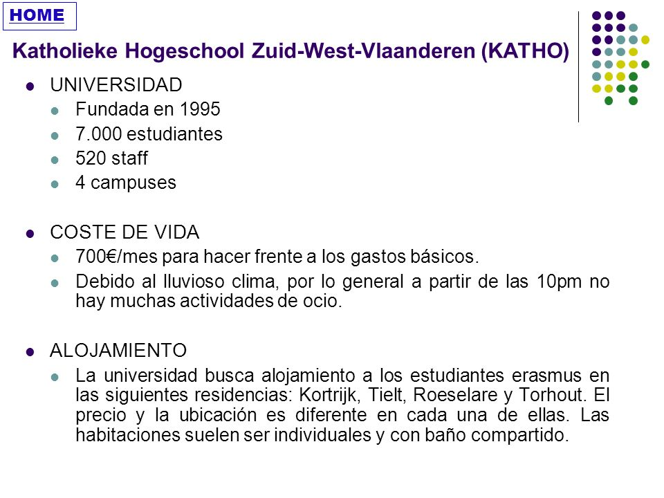 Katholieke Hogeschool Zuid-West-Vlaanderen (KATHO)