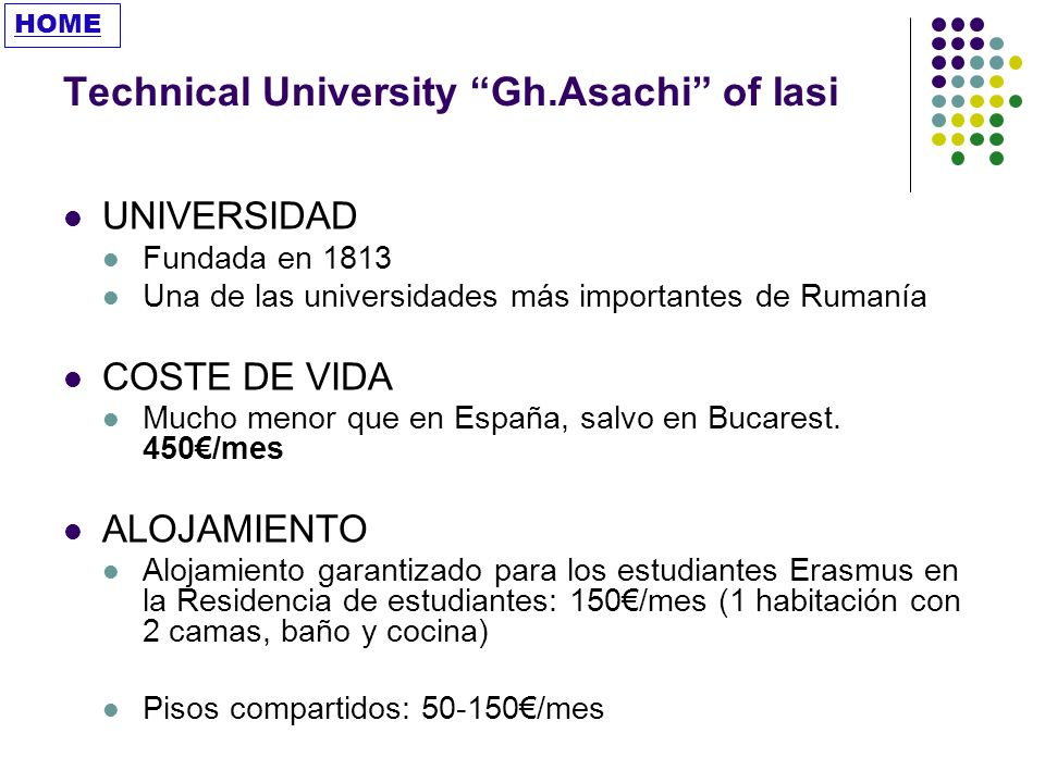 Technical University Gh.Asachi of Iasi