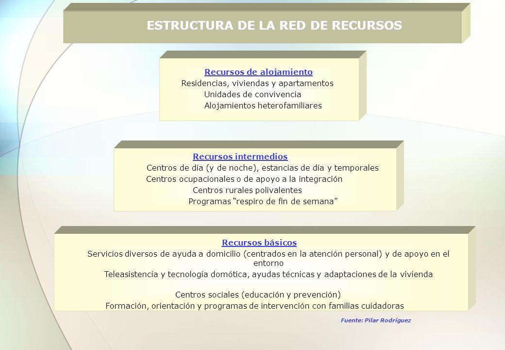 ESTRUCTURA DE LA RED DE RECURSOS
