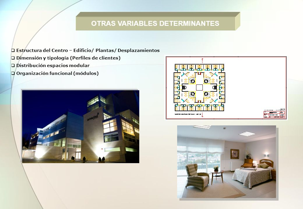 OTRAS VARIABLES DETERMINANTES