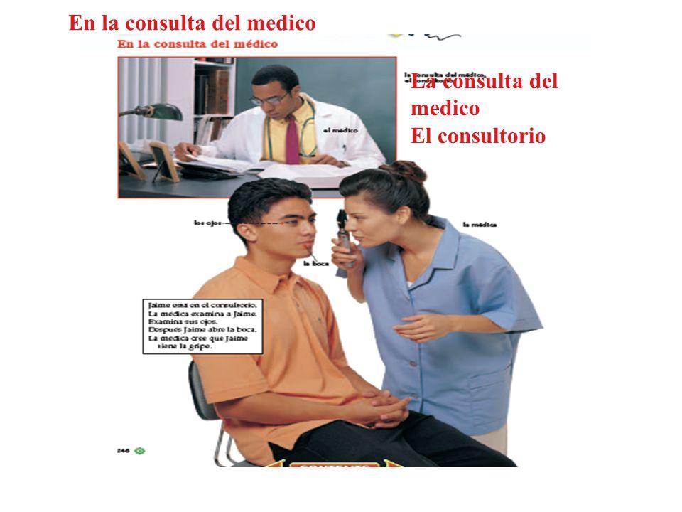 En la consulta del medico
